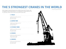 Infographic: The 5 strongest cranes in the world