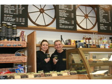 Owner David Sampson is delighted with the refurbishment of Potters Bar station coffee shop Chuggs