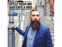 Style your mo and save a bro - Movember kampanj 2016
