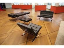 Rudolf Horns Sitzmöbel im GRASSI Museum für Angewandte Kunst Leipzig