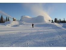 Et fjell av snø