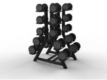 Hantelställ Technogym Vertical Dumbell Rack