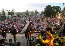 Konsert med Diggiloo på Mellanholmen
