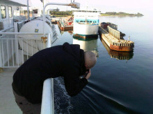 Filming automated mooring units in Denmark