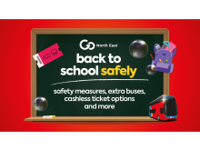 Go North East gears up for getting children back to school safely and securely