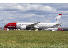 Norwegians 787 Dreamliner. Foto David Charles Peacock