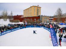 LTU Big Air 2019 på Luleå tekniska universitet
