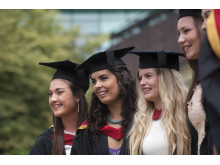Students graduating at Northumbria
