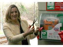 Amber Rudd MP opens Rye AED