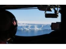 The edge of the Brunt Ice Shelf (Credit: Jan De Rydt)
