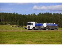 Mjölkbil från Norrmejerier