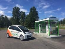 Tankstation för fordonsgas