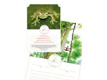 Rädda Regnskog och få ett vackert gåvobevis att ge bort eller hänga på väggen