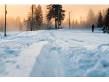 6 km med høykvalitets skispor