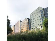 Vallen Norra 1, vinnare av byggnadspriset 2019.