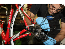 BOR3301-21 Law Mohammed Repairing Bike