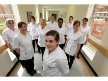 The first students enrolled on the Northumbria University and Northumbria Healthcare NHS Trust partnership
