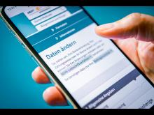 Online-Formular zum Rundfunkbeitrag: Daten ändern