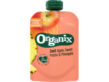 7465 Organix just apple sweet potato and pineapple
