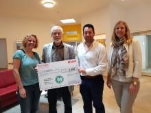 RestCent-Spendenübergabe Hospiz-Verein Regensburg