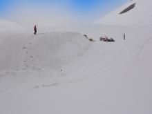 Schneedepot Engetal