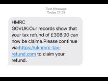 SA Text Scam