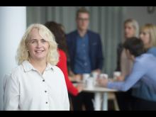 Christin Grundström, community manager på Umeå Biotech Incubator