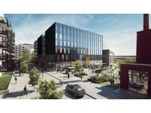 Det toppmoderne treningssenteret, i tilknytning til nabolagshotellet som Petter Stordalen og Nordic Choice Hotels skal bygge.