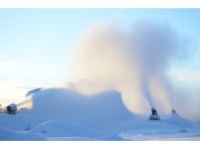 Produksjon av neste sesongs snø