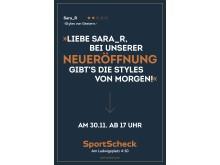 Neben Online-Bewertungen hat SportScheck in Interviews intensiv Wünsche von Kunden analysiert und für das neue Kauferlebnis in der Filiale ausgewertet.