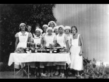 Konserverings- och matlagningskurs för elever år 1935