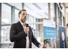 Andreas Svahn (S) regionstyrelsens ordförande Örebro län