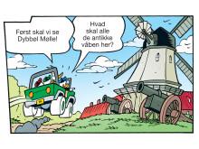 Stribe fra Anders And & Co. nr. 41 m. Dybbøl Mølle