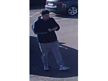 CCTV image of a man officers would like to speak to in relation to a theft in Little Brickhill