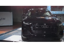 Audi Q8 pole crash test Dec 2019