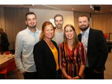 Möjliga vinnare till Umeågalans priser 2019