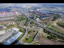STRABAG, Ausbau BAB 7-Autobahnbrücke K20 Elbmarsch, Hamburg
