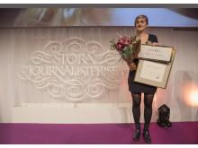 Matilda Gustavsson, vinnare av Årets Avslöjande