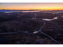 Hitra 2 vindpark. november 2018