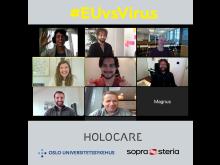 Holocare EUvsVirus Hackaton_teamet