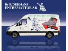 Biogasdriven mattbil