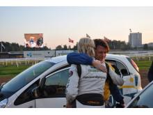 Adielsson vann Racing med Rena hästkrafter