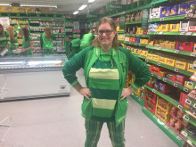 Butikksjef Linda Bræin på KIWI Slemdal