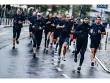 Das trübe Wetter konnte die Läufer nicht abhalten.