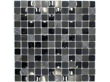 Mosaik Eventyr Skyggen Sort 30x30, 1.448 kr. M2.