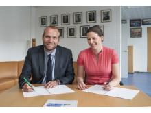 Partnerskabsaftale underskrives