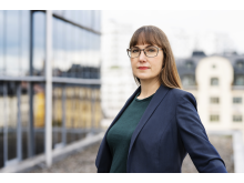 Johanna Ode, bostadspolitisk expert och verksamhetsutvecklare på Riksbyggen.