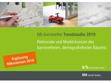 """""""bfb barrierefrei bauen"""" hat die Ergebnisse der Mikrozensus grafisch aufbereitet und als Ergänzung zur bestehenden """"bfb barrierefrei Trendstudie 2019"""" veröffentlicht."""