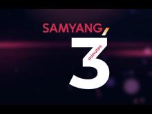 SAMYANG 3 Minutes Logo c Walser