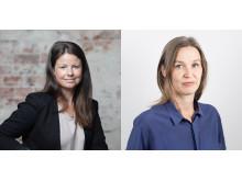 Tove Larsson och Johanna Hallin
